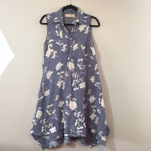 ISABELLA SINCLAIR COTTON EMBROIDERED DRESS- Small